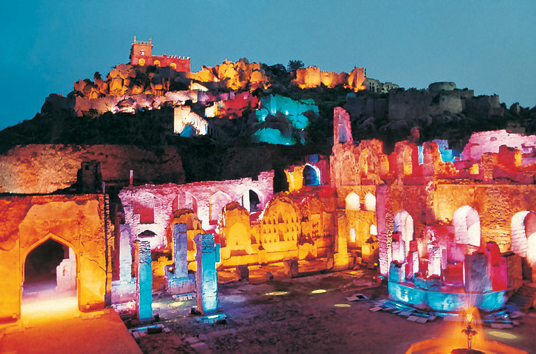 Golconda Fort Hyderabad - Light Show